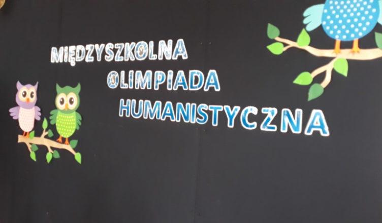 XIII Międzyszkolna Olimpiada Humanistyczna